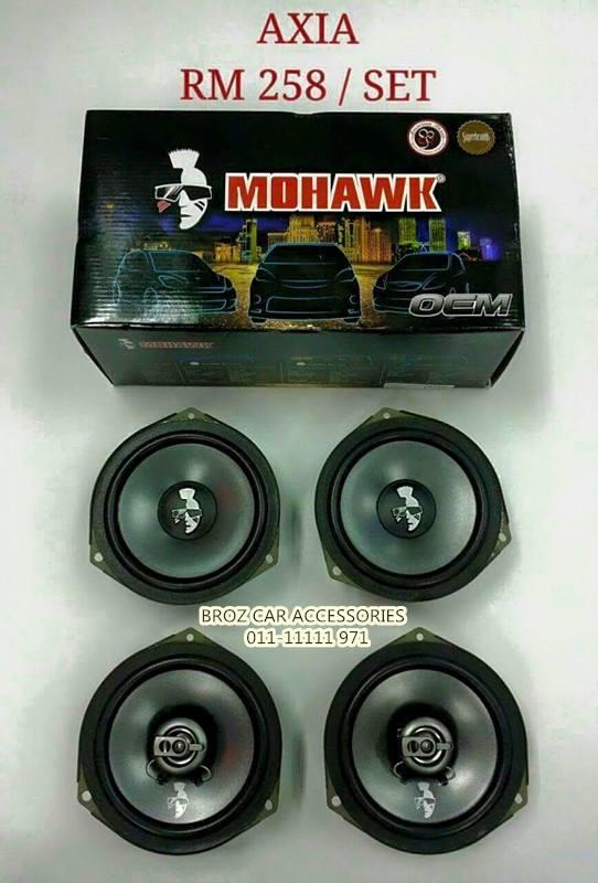 MOHAWK 4PCS SPEAKER OEM PLUG & PLAY OEM FOR AXIA PLUG & PLAY
