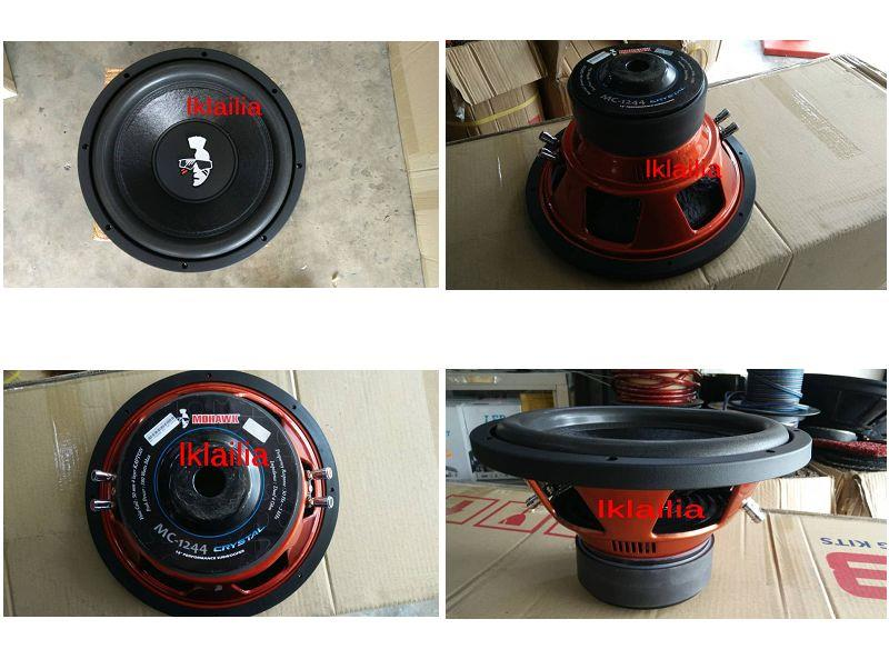 "Mohawk Limited Edition 12"" Double Voice Coil Subwoofer Weight 7kg"