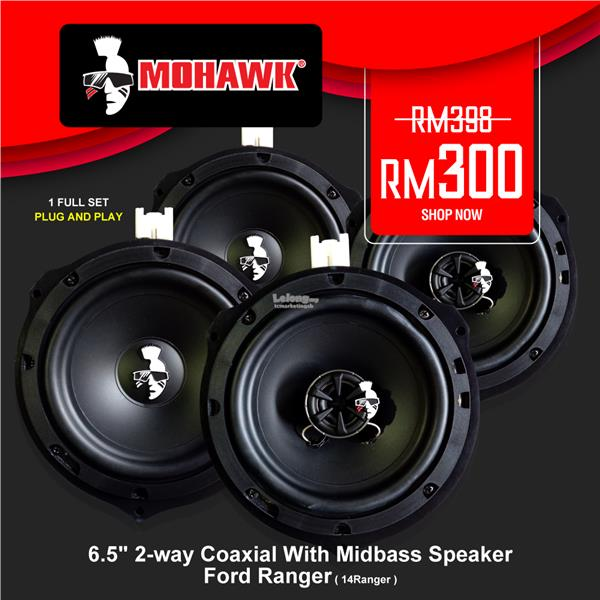 Mohawk OEM Ford Ranger 6.5 Inch 2-Way Coaxial with Mid Bass Speaker