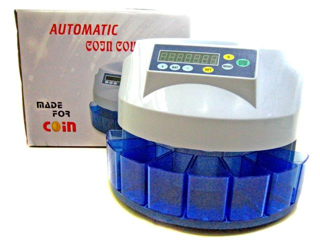 MONEY COIN COUNTER MACHINE FULLSET + 6 YEAR WARRANTY