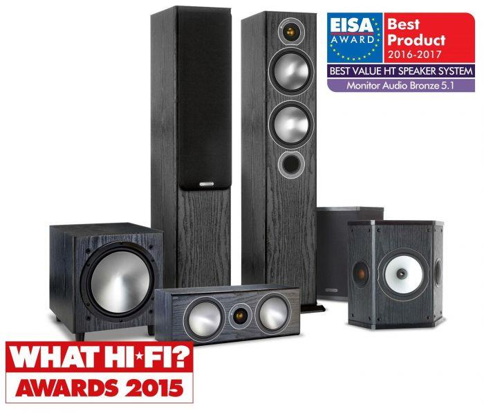Best Home Theater In A Box 2020.Monitor Audio Bronze 5 5 1 Home Theater System