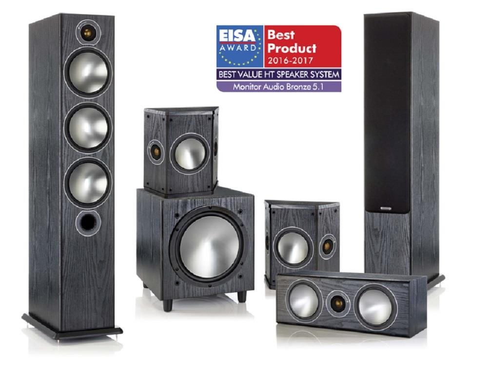 Best Home Theater In A Box 2020.Monitor Audio Bronze 6 5 1 Home Theater Package