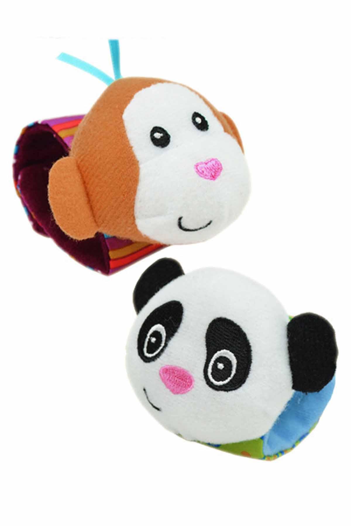 monkey and panda baby rattle wristba end 4 27 2020 2 10 pm