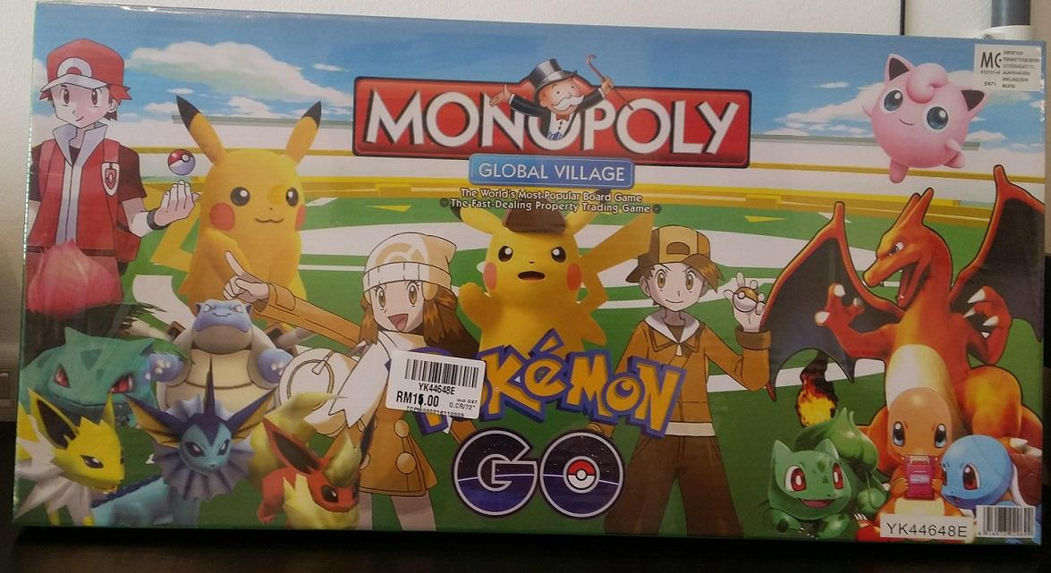 Monopoly Pokemon Go Board Game End 5 17 2018 5 15 Pm