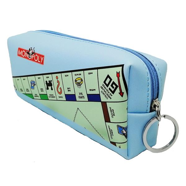 MONOPOLY TUBE PENCIL BAG