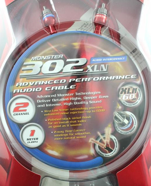 Monster 302XLN Car Audio Cable