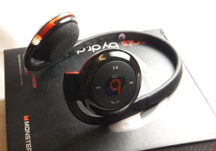 Monster Beats HD-503 Bluetooth Stereo Wireless Headset Headphone. ‹ › 07d474191