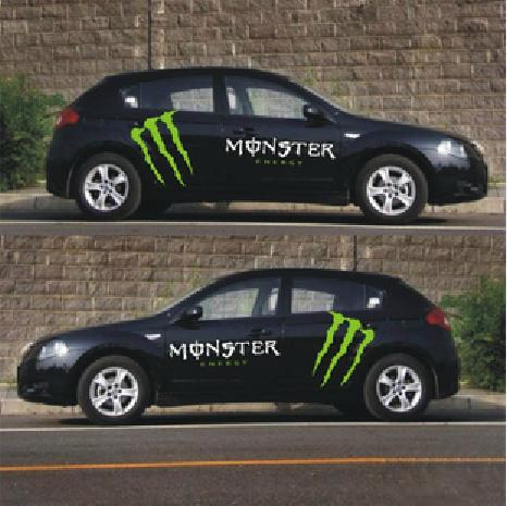 Monster Energy Car Body Stickers End Pm