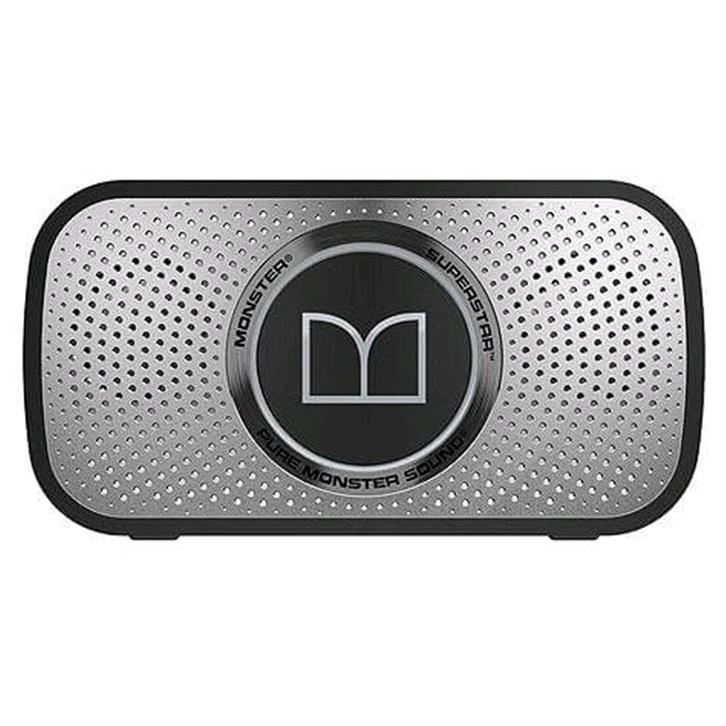Monster SuperStar Bluetooth Speaker / Speakerphone (Grey)