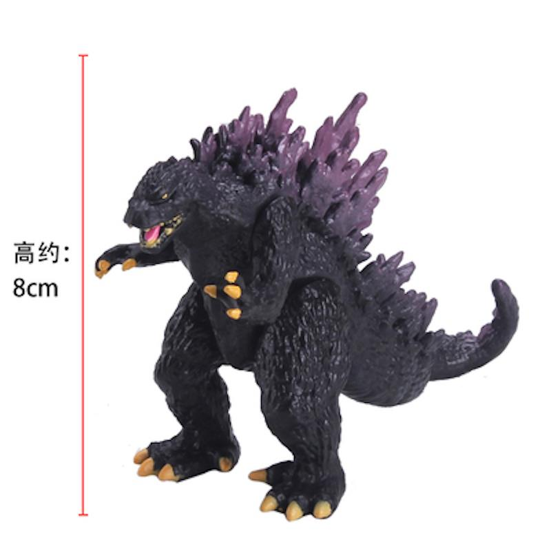 Monsters Godzilla Toy PVC Dinosaur Action Figures Collection 10pcs set