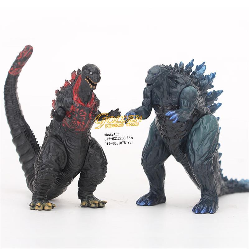 Monsters Godzilla Toy PVC Dinosaur Action Figures Collection 6pcs set