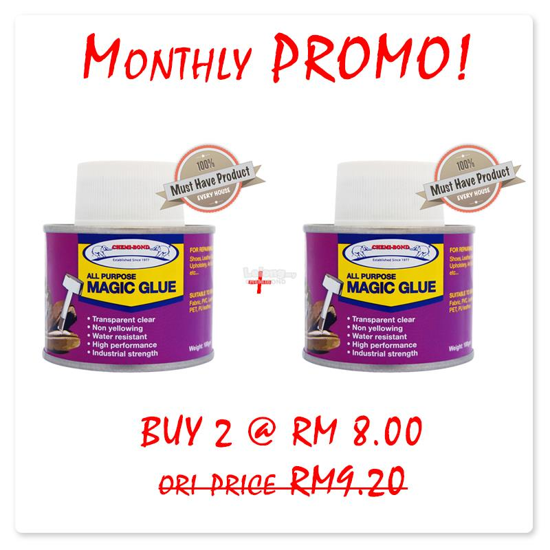 43b3ad5026 Monthly Promo-Magic glue for PVC, ABS, leather, felt, metal, wood