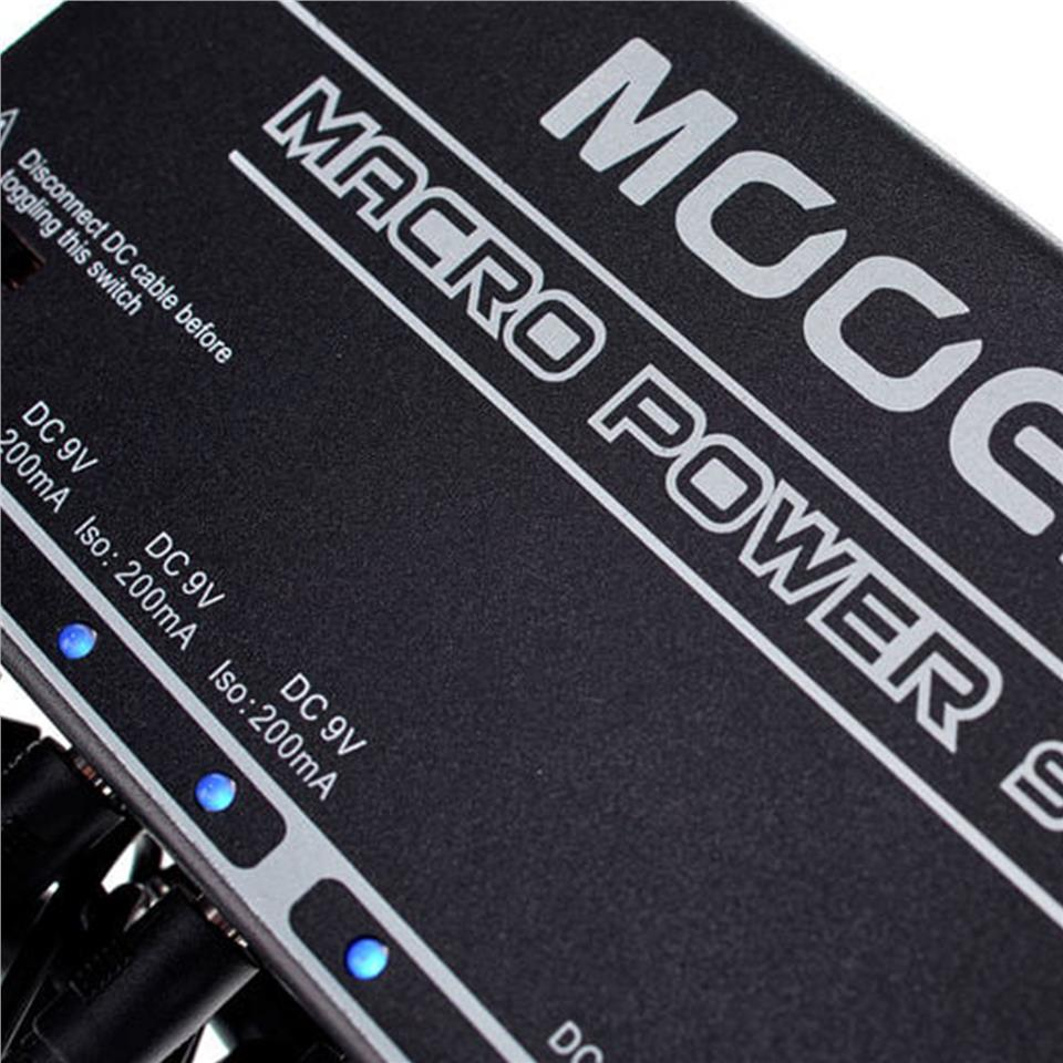 MOOER Macro Power S8 8Ports Isolated Power Supply + Free Power Adapter