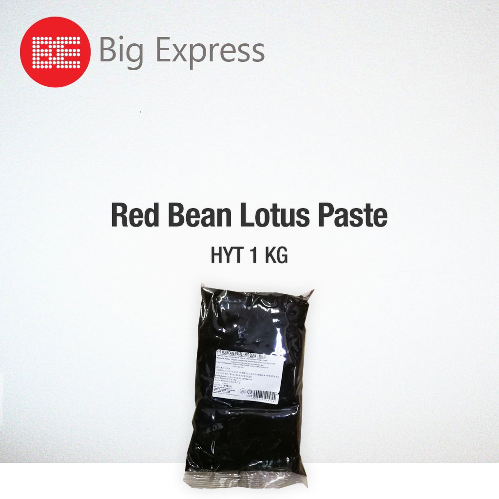 Moon Cake Paste Red Bean Lotus 1kg HYT - Big Express