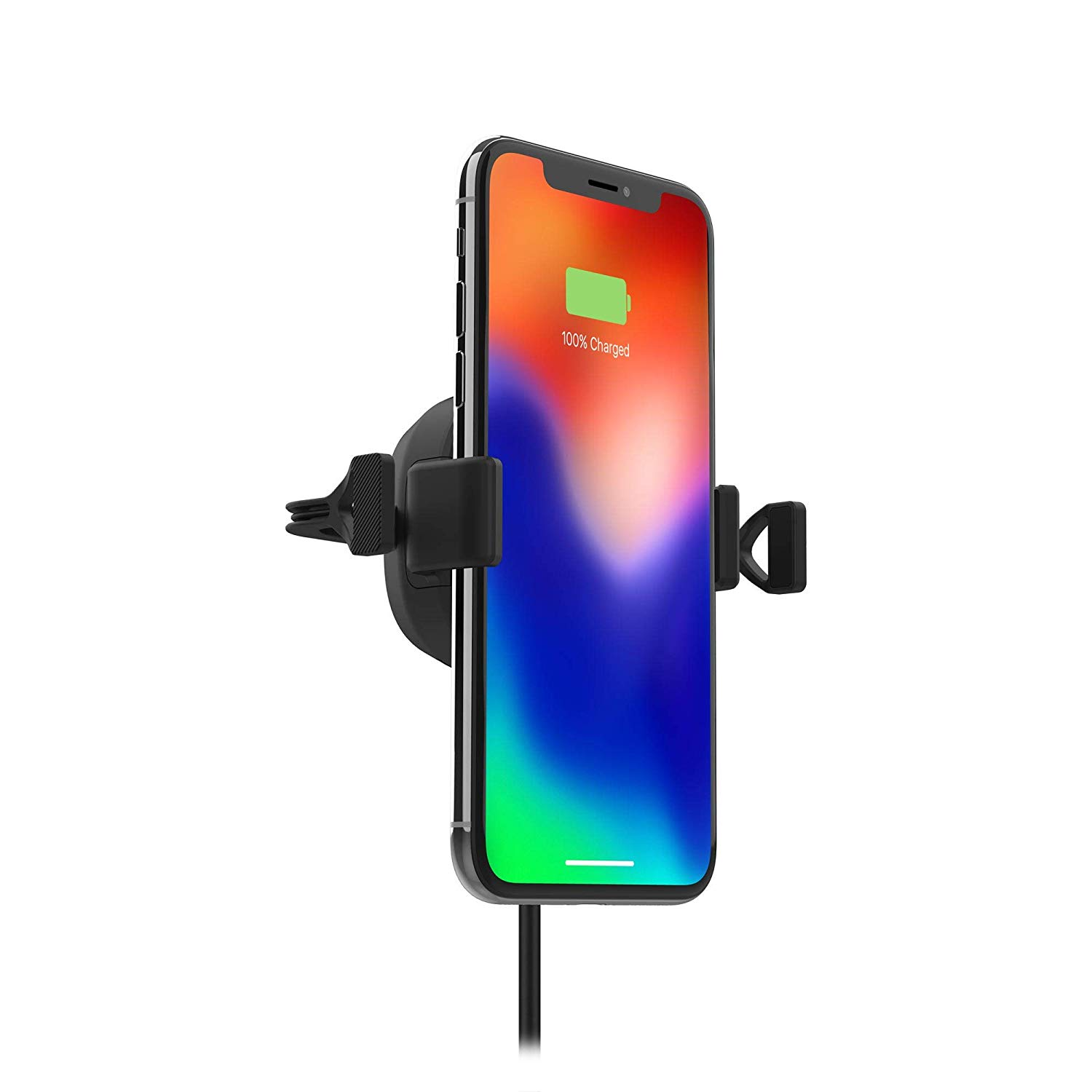 Mophie Wireless Charge Stream Vent Mount - 10W of power to Qi-enabled
