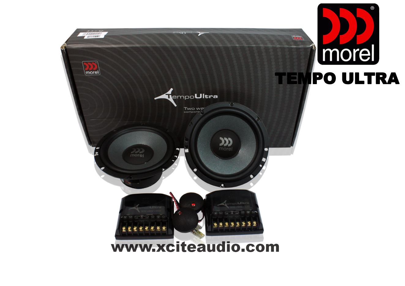 Morel Tempo Ultra 6-1/2' 2-Way Component Car Speakers