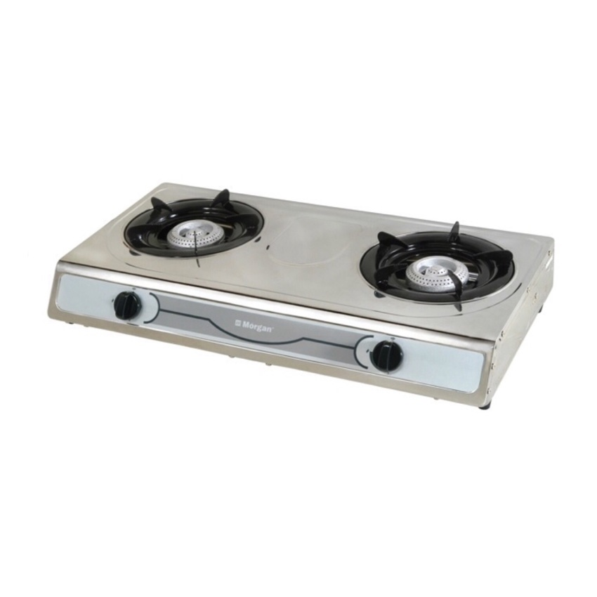 Morgan Double Gas Stove Mgs Sb4010ss Stainless Steel