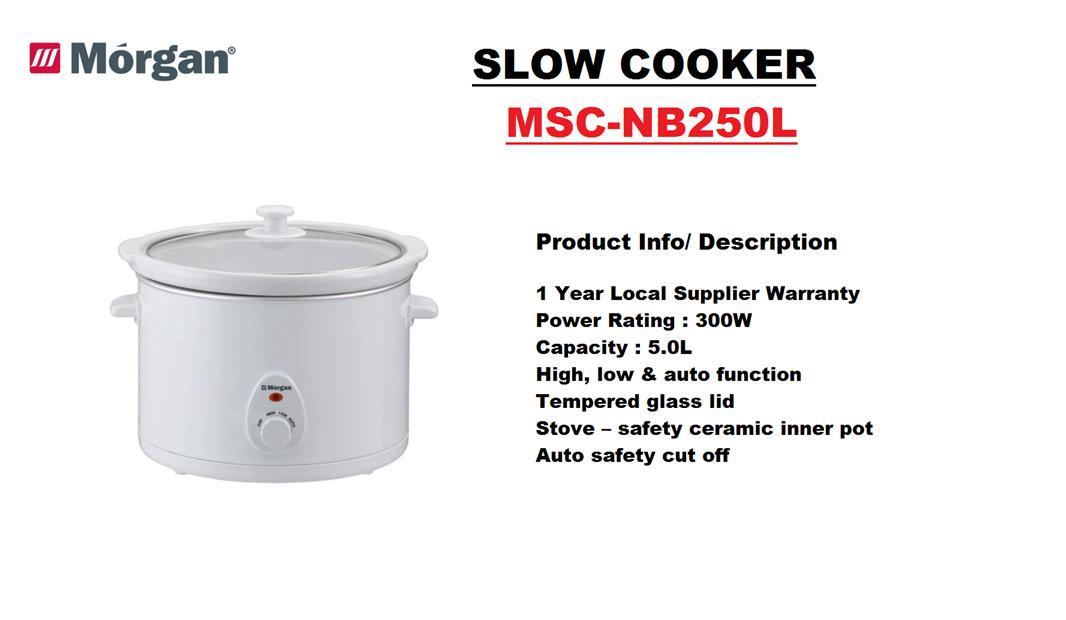MORGAN SLOW COOKER 5.0L