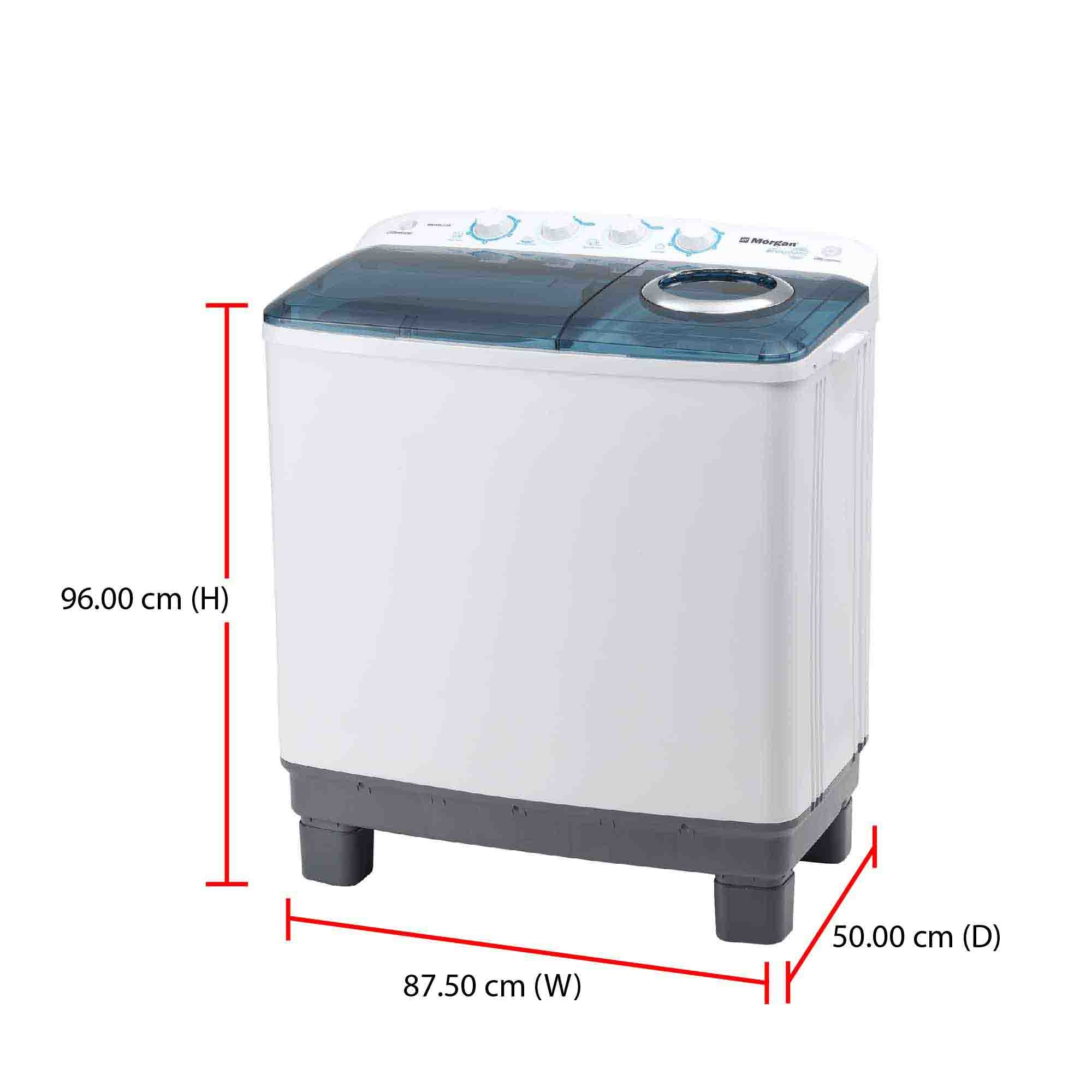 Morgan Washing Machine MWM-B1211SA (11.0kg) Semi Auto