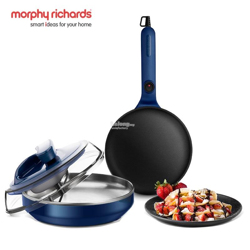 Morphy Richards Electric Pancake Crepe Pizza Baking Frying Pan Machine