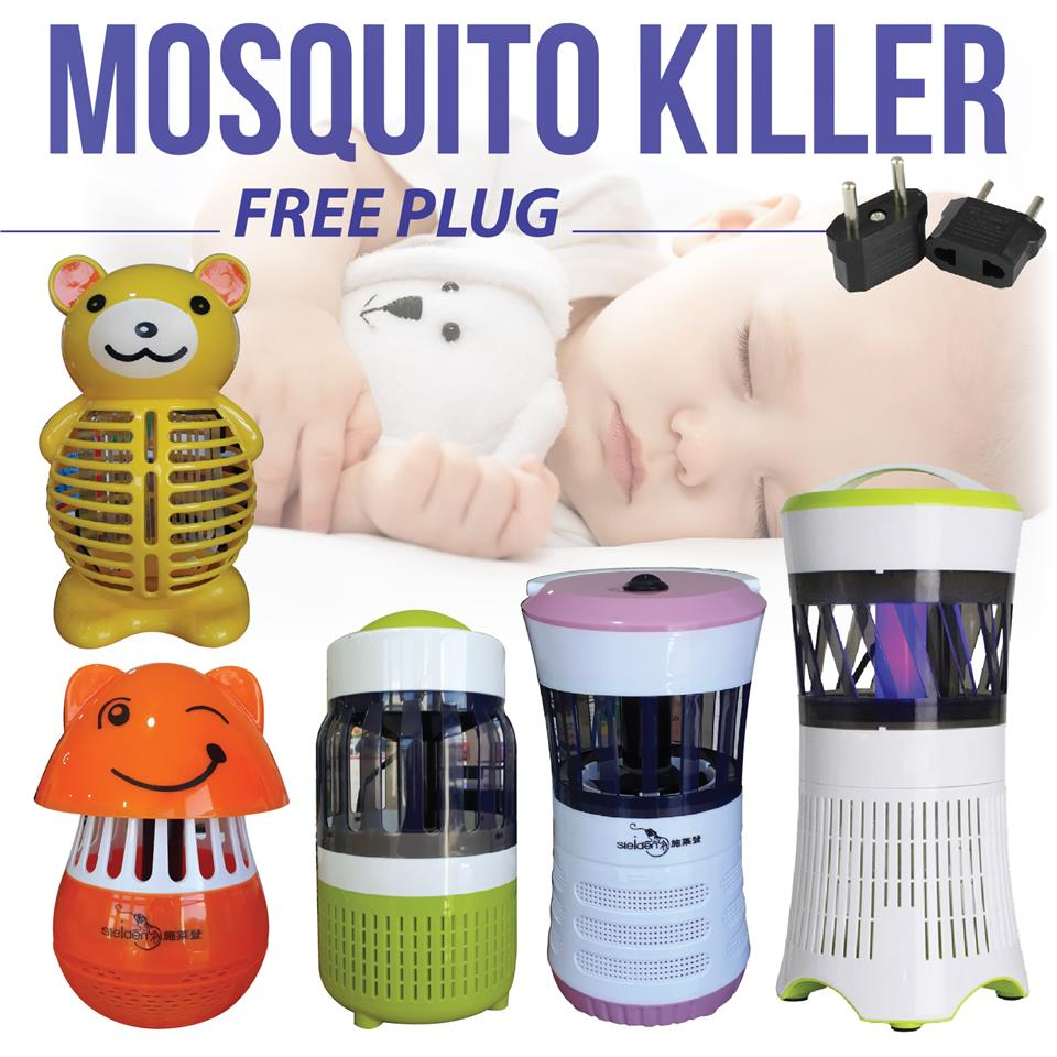 Silent Led Sleep Non Pest Repeller Insect Home Killer Toxic Mosquito 9IEHD2