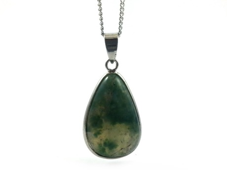 Moss agate pendant necklace feng s end 5252018 222 pm moss agate pendant necklace feng shui crystal store aloadofball Choice Image