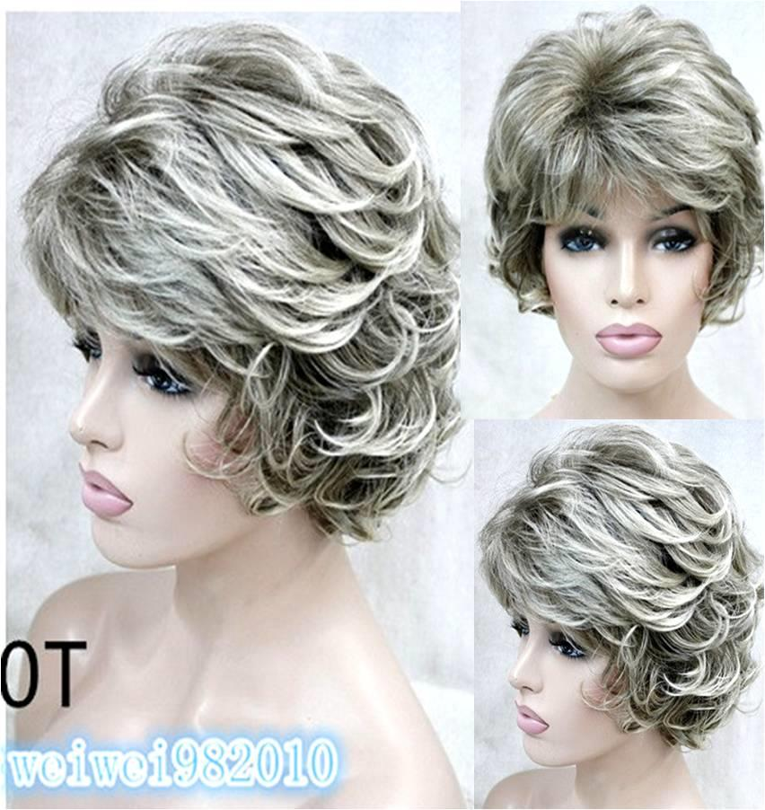 Mother hair wig Le1/ rambut palsu/ ready stock