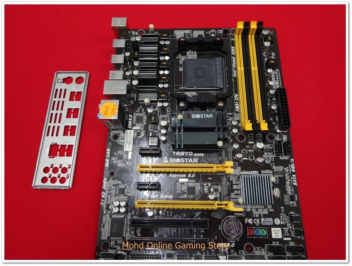 Biostar TA970 ASMedia USB 3.0 64x