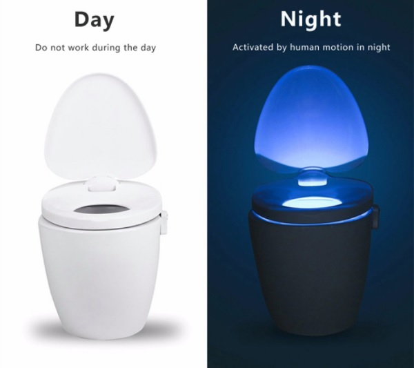 Motion activated toilet night light b end 592020 235 pm motion activated toilet night light bowl bathroom led 8 color lamp sen mozeypictures Image collections