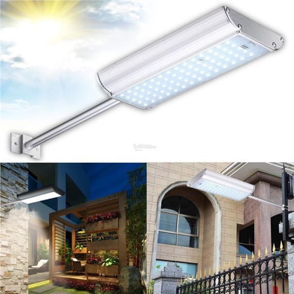 Motion Sensor 70 LED Wireless Solar Light Outdoor Waterproof Garden Wa