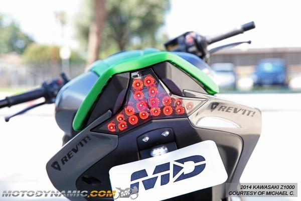 MOTODYNAMIC Z1000 14-16/ZX10R 2016 LED Tail Light