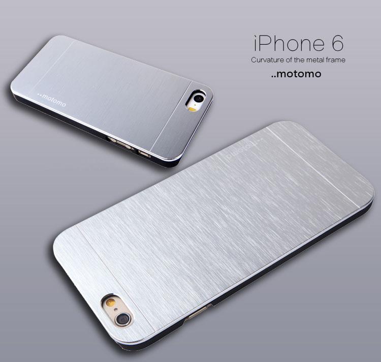 Plus Source · Motomo Metal Hard Back Case For Iphone 6 .