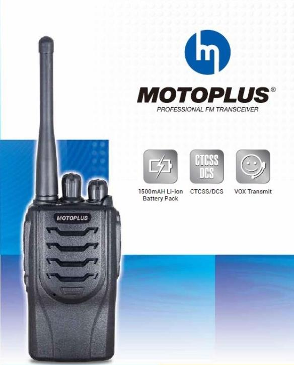 MOTOPLUS PROFESSIONAL FM TRANSCEIVER WALKIE TALKIE (TC144)