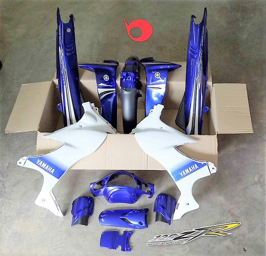 Motor Cover Set 125zr Blue Premium C End 1 14 2020 5 15 Pm