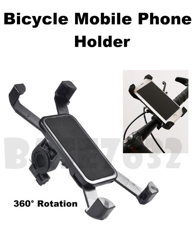 Motorcycle Bicycle Bike Mobile Smart Phone Holder Mount Bracket 1958.1