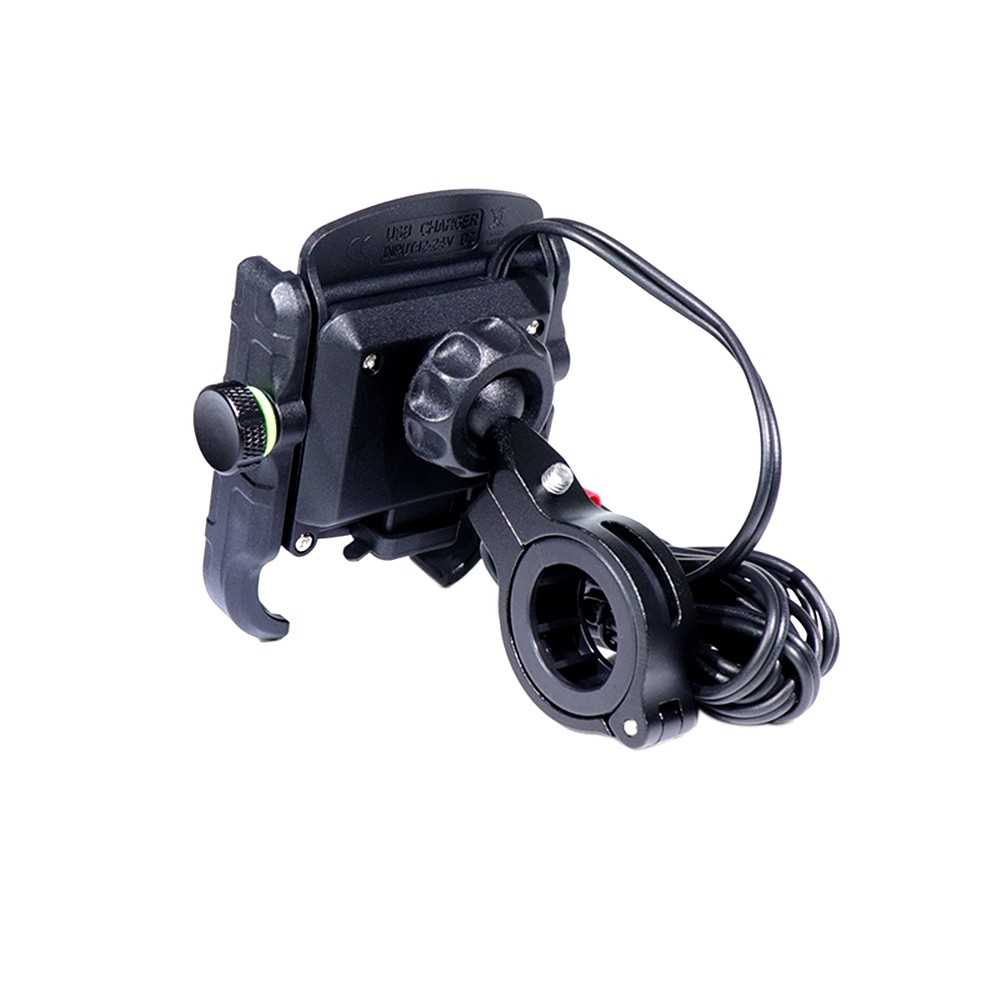 Motorcycle Bicycle Phone Holder Handlebar Clip Stand Bike Stand