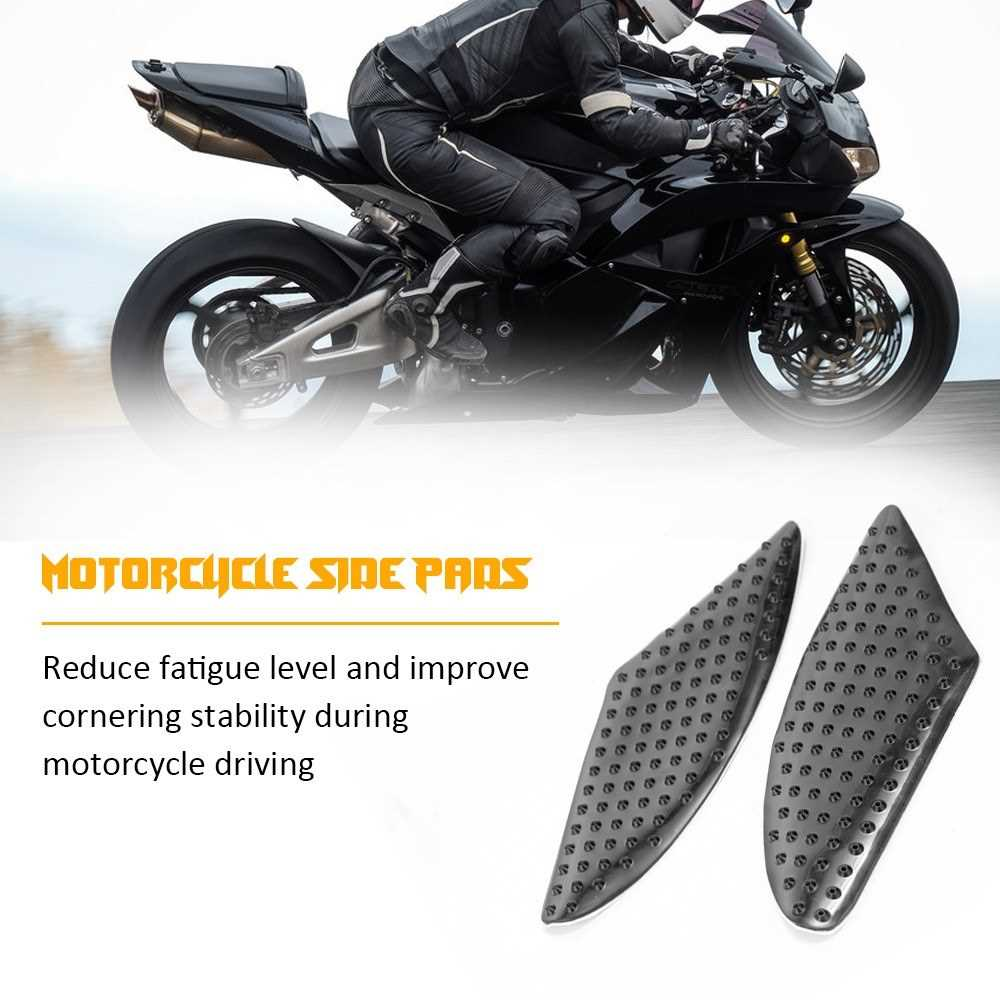 Motorcycle Heat Insulation Tank Pad Anti Slip Sticker Knee Grip