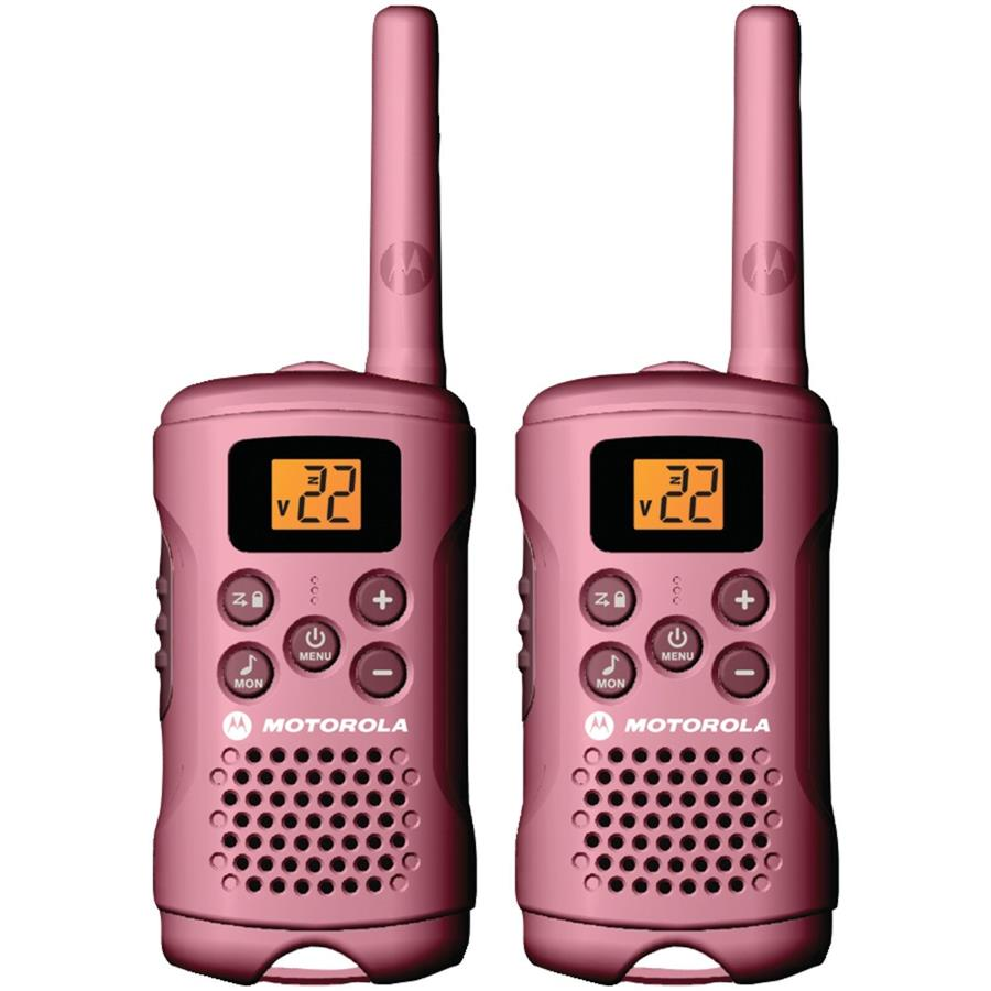 Motorola 22-Channel FRS/GMRS Two-Way Radio Up To 16-Miles Range (Pair)