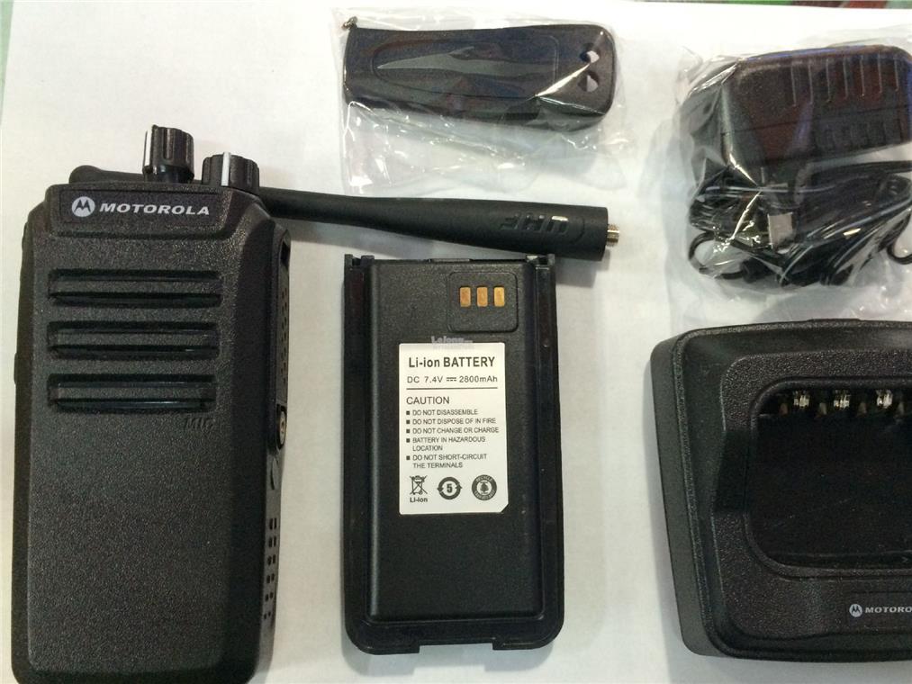 Motorola GP-960 PLUS Long Range Walkie Talkie PTT 2 way radio 10W