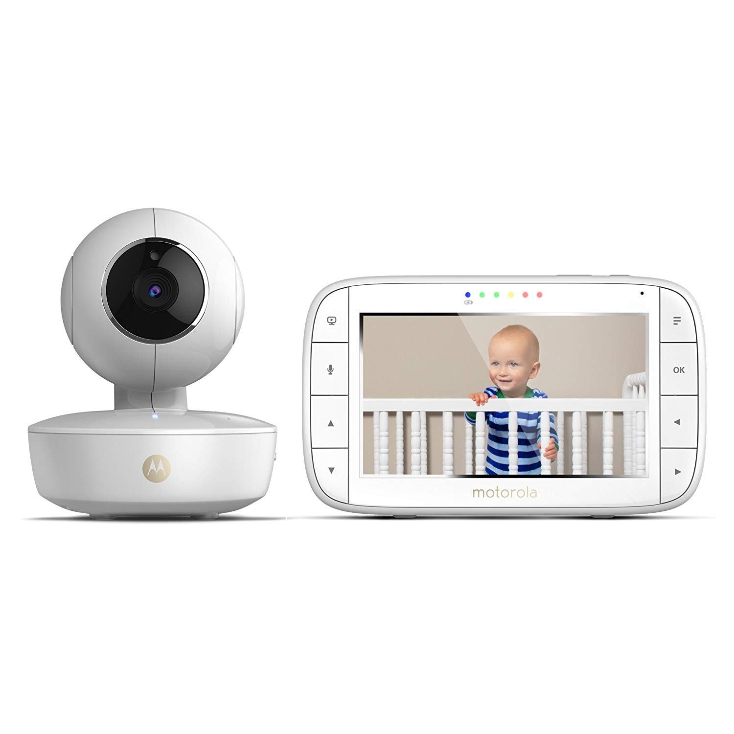 Motorola MBP36XL 5 inch Portable Video Baby Monitor