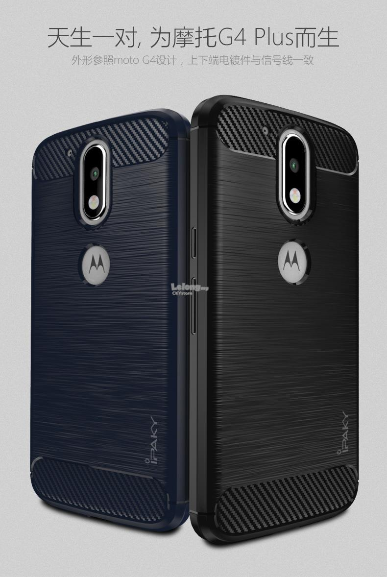 release date: afcf7 99493 Motorola Moto G4   G4 Plus IPAKY Durable Full Protection TPU Case