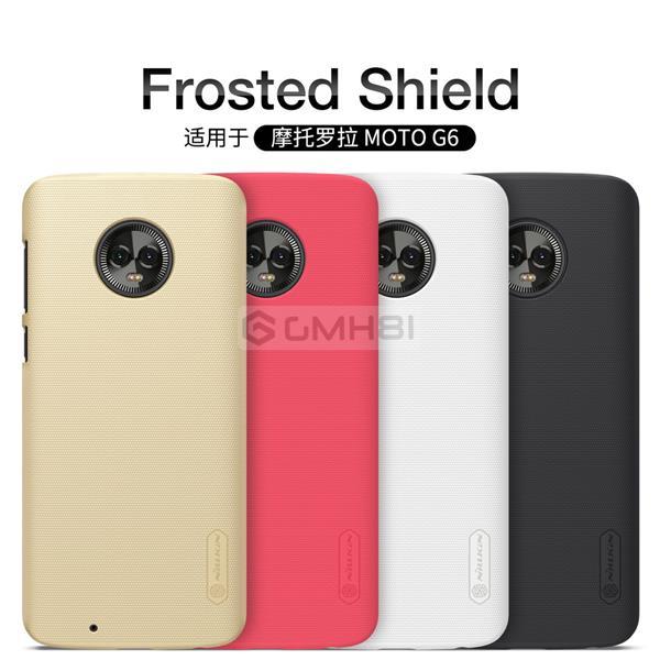 super popular 330a6 2ce66 Motorola Moto G6 Nillkin Super FROSTED Shield Hard Back Cover Case