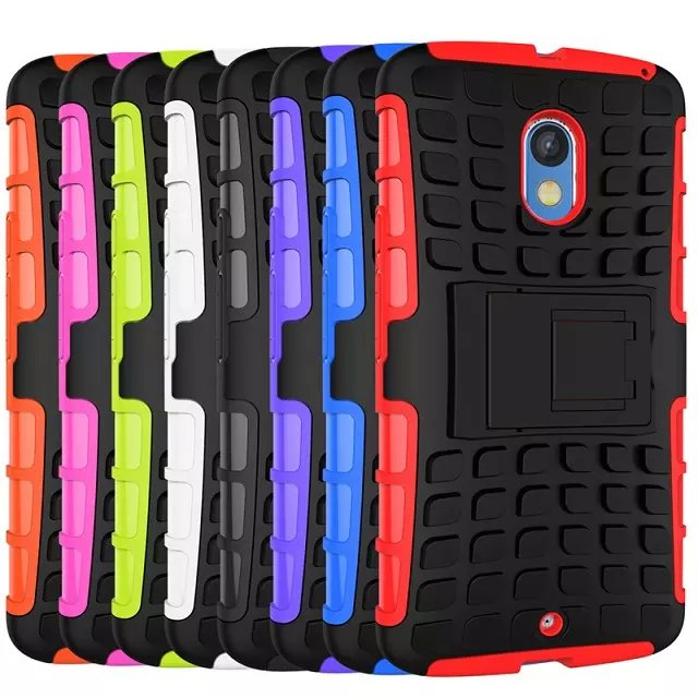 lowest price 4afaa aa8d1 Motorola Moto X Play Armor ShakeProof Case Cover Casing