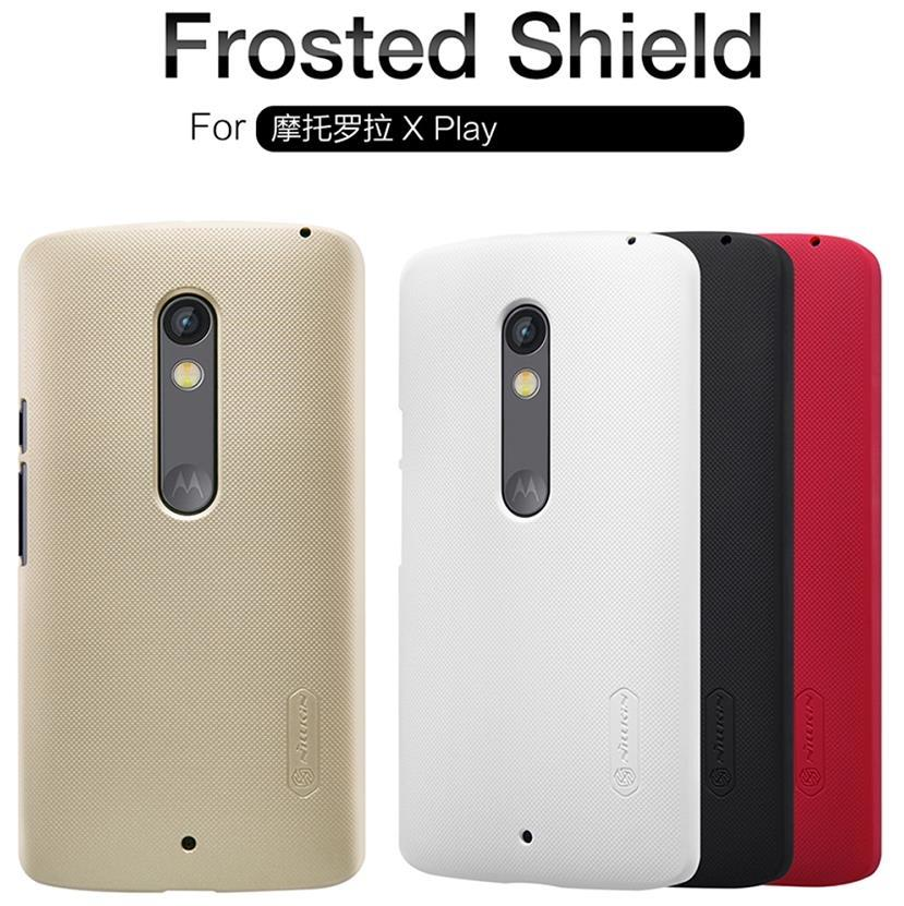 Motorola Moto X Play XT1562 Frosted Shield Case Cover Casing + Free SP