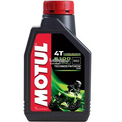 MOTUL 5100 4T 10W40 Bike Engine Oil
