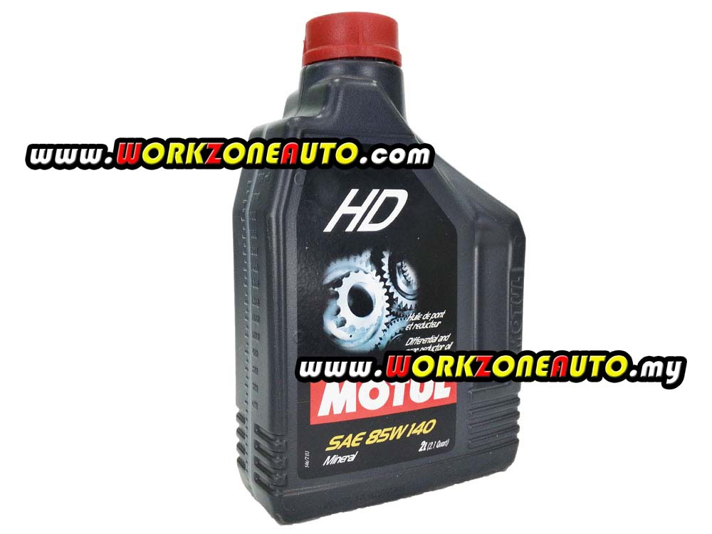 Motul HD 85W140 Mineral Gear Oil 2L