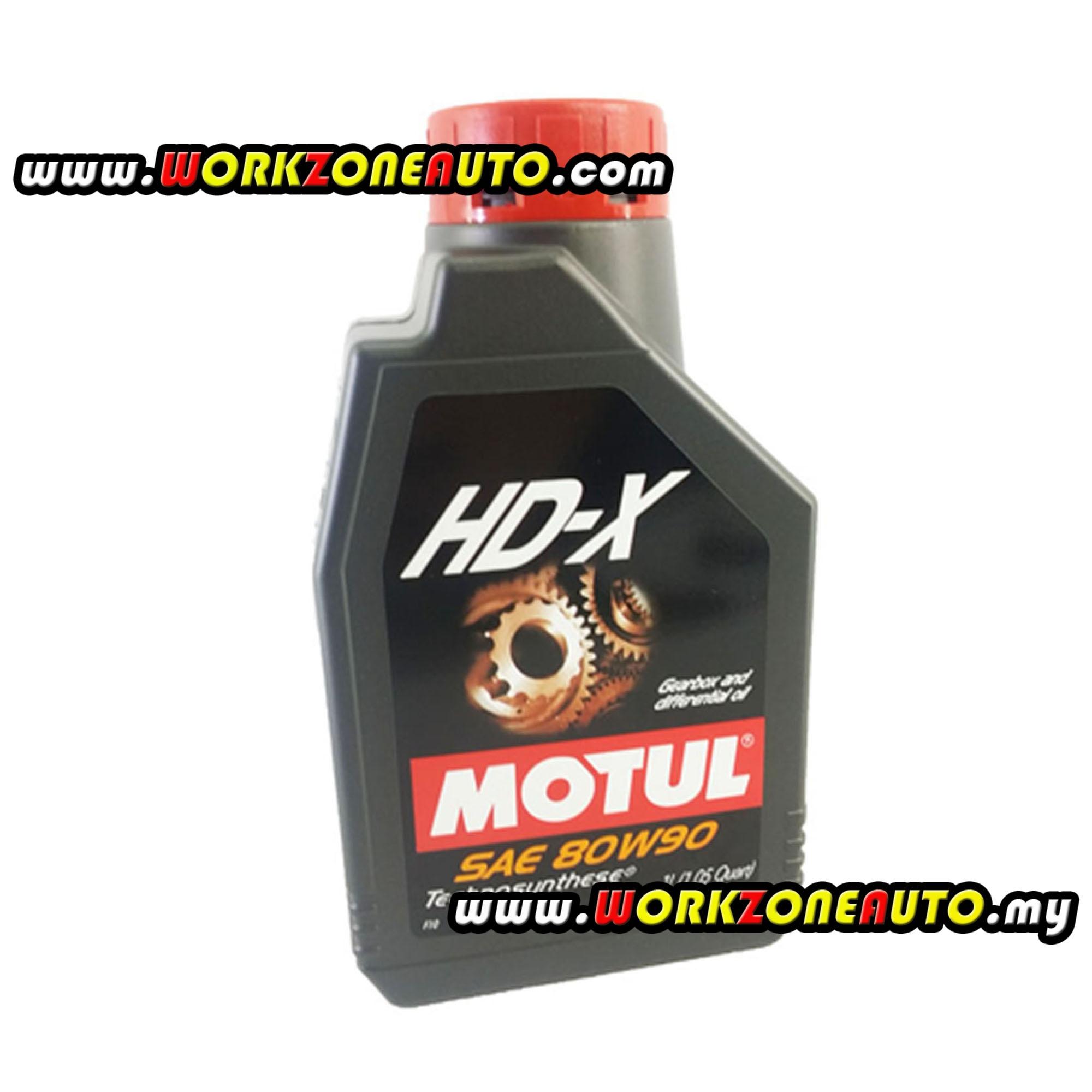 Motul HD-X 80W90 Semi Synthetic Gear Oil 1L