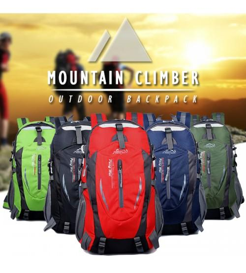 Mountain Climber Outdoor Hiking Camping Backpack Casual Backpack Bag