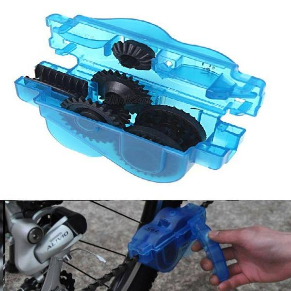 Mountain Road Bike Bicycle Chain Cleaner Machine Brushes Scrubber Tool