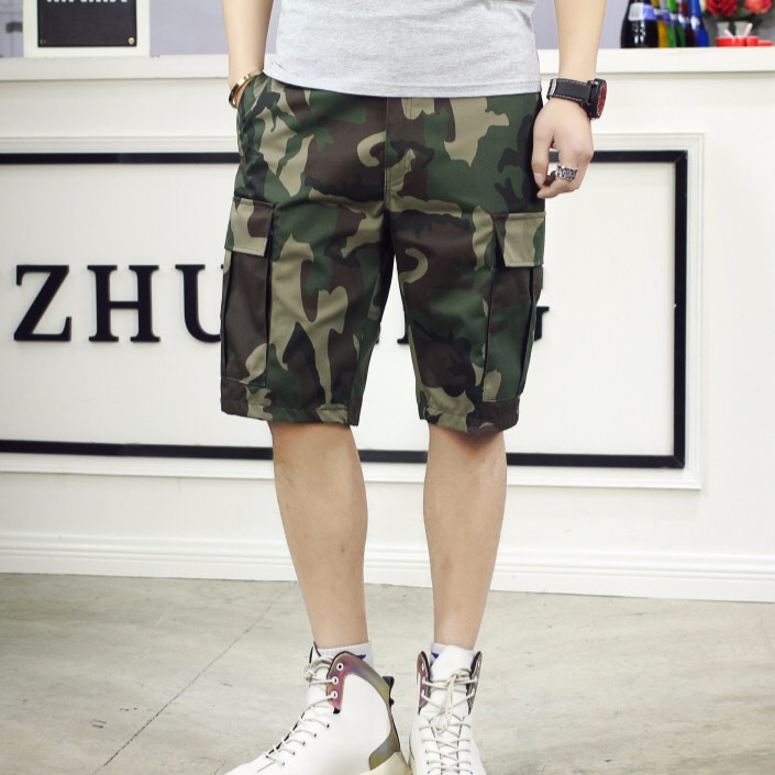 MP 050  Korean Style Army Green Men Short Pants Trendy Shorts Mens pant. ‹  › 0e9a8ddfdb1